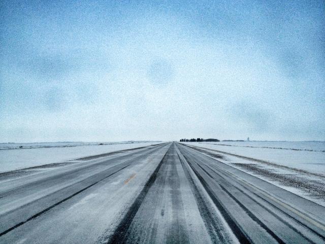 Ice road trekking (aka highway 2)