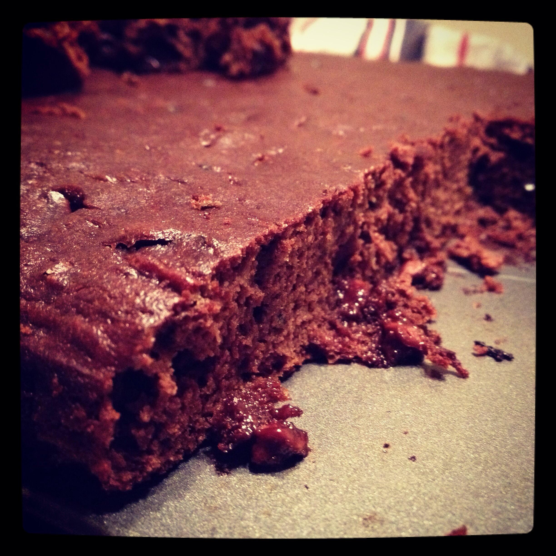 Mm, paleo chocolate zucchini cake.
